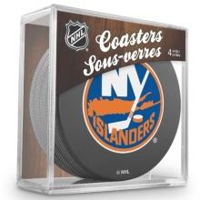 Sher-Wood New York Islanders NHL Eishockey Puck  Bild 1