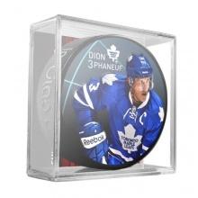 Sher-Wood Phaneuf Toronto Maple Leafs Eishockey-Puck Bild 1