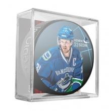 Sher-Wood Sedin Vancouver Canucks Eishockey-Puck Bild 1