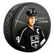 Sher-Wood Brown Los Angeles Kings Eishockey-Puck Bild 1