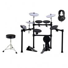 XDrum DD-516 BK E-Drum+ Hocker+ Kopfhörer Set Bild 1