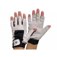 Blueport Segelhandschuhe Leder 5 Finger frei, Größe:XL Bild 1