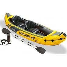 Intex Schlauchboot Kajak EXPLORER K2, 312x91x51cm Bild 1