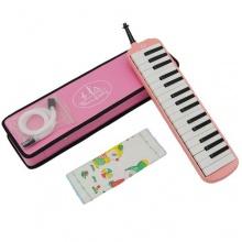 Ts-Ideen 32 Tasten in Pink Rosa Melodika Bild 1