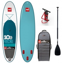 Red Paddle Set TenSix Surfer Stand-Up Paddling Board Bild 1