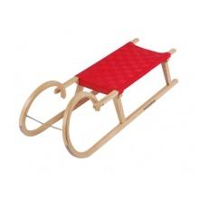 Hudora Hörnerschlitten Gurtsitz, 110 cm Bild 1