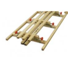 Erst-Holz Hörnerschlitten Klappschlitten 125 cm Bild 1