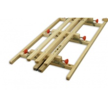 Erst-Holz Hörnerschlitten Klappschlitten 110 cm Bild 1