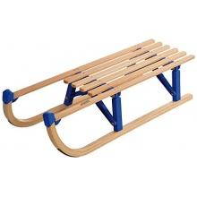 Spartan Hörner Holzschlitten 100 Klappbar,102x39x11cm Bild 1