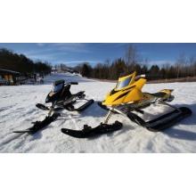 Lenkschlitten,Snow Moto Ski Doo v. Schreiner u Schühle Bild 1