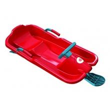 Plastkon Kinder Lenkschlitten SkiBob, Rot Bild 1