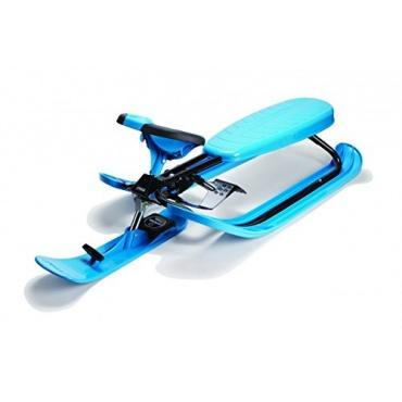 stiga lenkschlitten snowracer color pro blue test. Black Bedroom Furniture Sets. Home Design Ideas