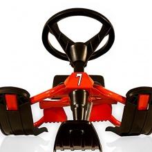 DEUBA:Lenkschlitten mit Bremse 120x50x38cm Rennrodel Bild 1