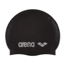Arena Badekappe Classic Silicone, black-silver, 91662 Bild 1