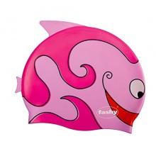 Fashy Kinder Badehaube Silikon, pink Bild 1