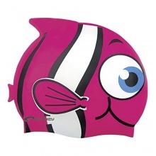 Spokey Rybka Kinder Badekappe, Spokey Fisch,rosa Bild 1