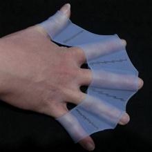 Mofun 1 Paar Silikon Schwimmhandschuhe Handpaddel  (M) Bild 1