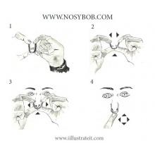 NOSYBOB,Nasenklammer fürs Tauchen Bild 1