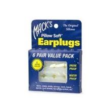 Macks Pillow Soft-Silikon-Ohrstöpsel, Value Pack, 6 pr Bild 1