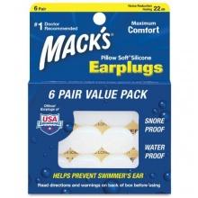 MACKS Pillow Soft-Silikon Ohrstöpsel, 6 Paar Bild 1