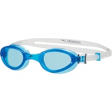 Speedo Schwimmbrille Futura One, Neon Blue, One size Bild 1