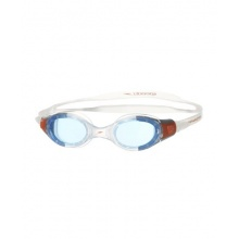 Speedo Schwimmbrille Junior Futura, Clear/Blue, Bild 1