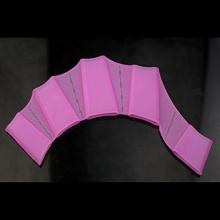 HuntGold 1 Paar Schwimmhandschuhe rosa Silikon  Bild 1