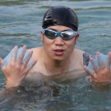 HuntGold 1 Paar Schwimmhandschuhe Größe:M Bild 1