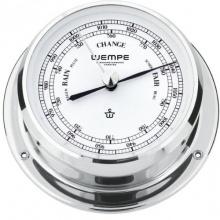 Barometer Skiff Chrom 110mm, Druckmesser,WEMPE Bild 1