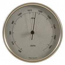 Delite ApS Clausen Edelstahl Barometer Druckmesser Bild 1