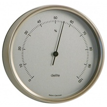 Delite ApS Clausen Edelstahl Hygrometer - Druckmesser Bild 1