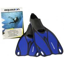 Aquazon Kinder Flossen, Butterfly, Blau, 36-37 Bild 1