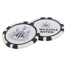 Newcastle United FC Poker Chip Ballmarkierer Bild 1