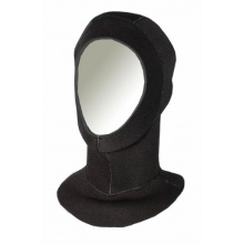 SCUBATEC Neoprenhaube mit Halsmanschette 5mm schwarz Bild 1