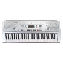 Funkey 61 Silber Keyboard  Bild 1