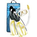 Cressi Schnorchel Set Pluma Bag, 41/42, gelb Bild 1