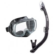 TUSA Sport Schnorchelset Imrpex 3D Dry, Black Bild 1