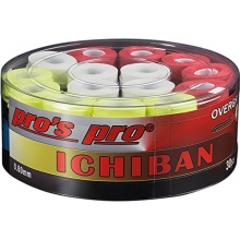 30 Griffbänder Tennisschläger Ichiban bunt von Pro Bild 1