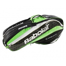 Babolat Rh X6 Tennisschläger Hülle Pure Wimblebon  Bild 1