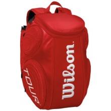Wilson Tennis Schlägertasche Tour Molded Backpack, Red Bild 1