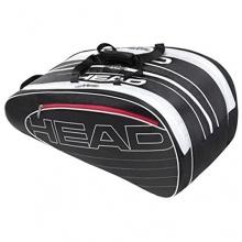 HEAD Tennis Schlägertasche Elite Monstercombi, Schwarz Bild 1