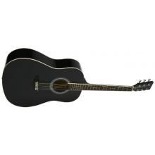 Navarra NV-1 Westerngitarre schwarz Bild 1