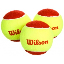 Wilson Starter Tennisbälle 3 Pack, Yellow, 6 Bild 1