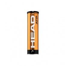 Head Tennisbälle ATP 4er Metalldose 570304 Bild 1