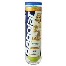 Babolat Tennisbälle Gold 4er Dose, gelb, 502012 Bild 1
