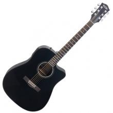 Rocktile D-60CE Westerngitarre Schwarz  Bild 1