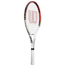 Wilson Tennisschläger Roger Federer  25, weiß/rot Bild 1