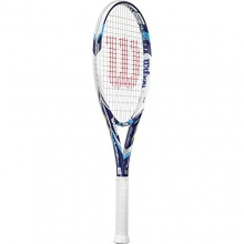 Wilson Tennisschläger Juice 100UL Besaitet, Blau Bild 1