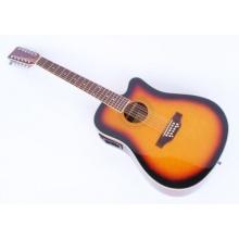 MPM Western Gitarre 12 saitig sunburst Bild 1