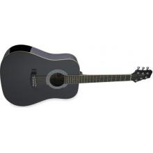 Stagg SW201 Akustik Westerngitarre schwarz Bild 1